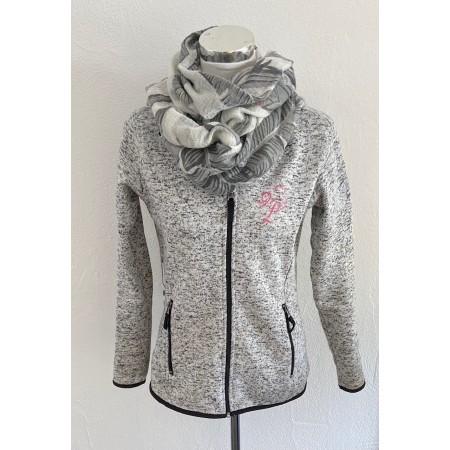 Knit Fleece Jacke